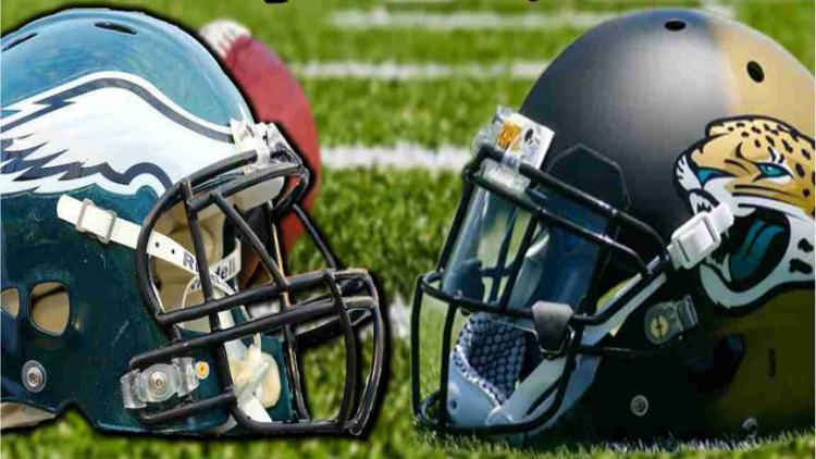 Philadelphia Eagles vs. Jacksonville Jaguars!