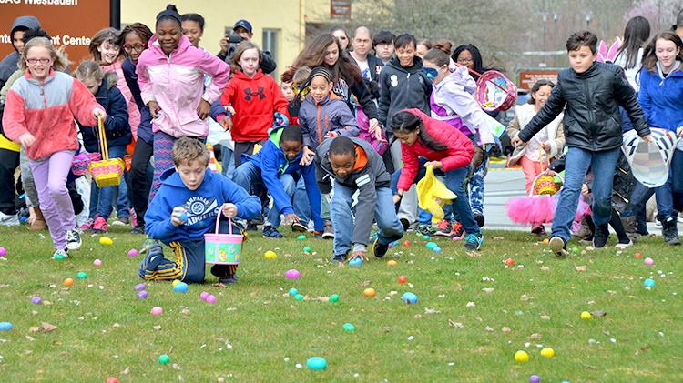 Month of the Military Child Kickoff and Eggstravaganza