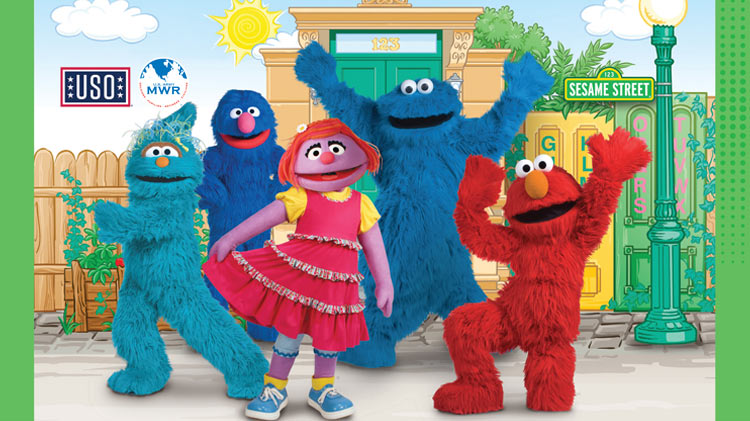 The Sesame Street / USO Experience for Military Families