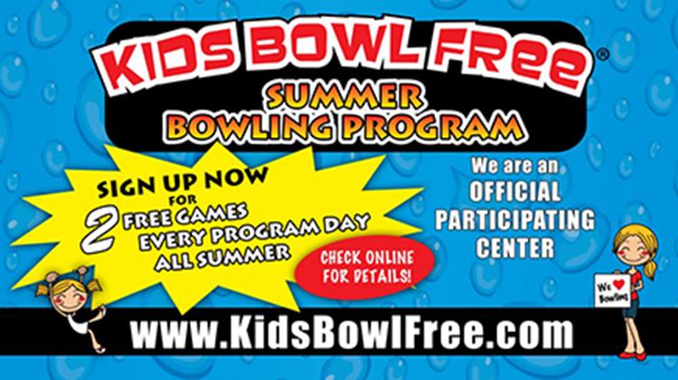 Kids' Bowl FREE