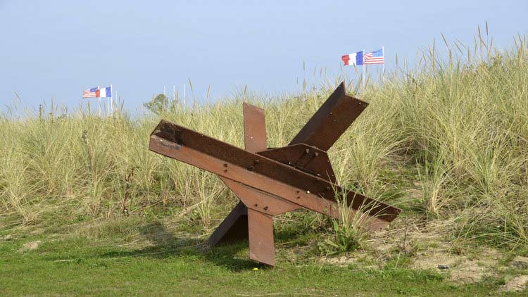 D-Day Landing Beaches, Memorials and Battle Monuments - Normandy, France