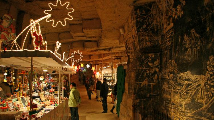 Valkenburg Cave Christmas Market