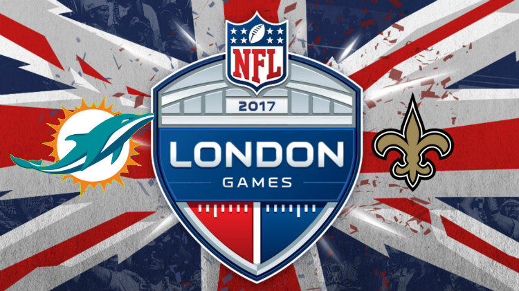 New Orleans Saints vs Miami Dolphins NFL Game, London